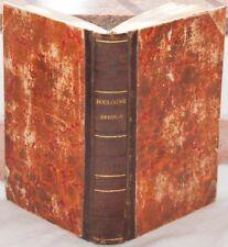 DE BOULOGNE DISCORSI TROYES ROUSSEAU VOLTAIRE RARO 1846