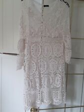 cream top ladies top size small f&f tesco