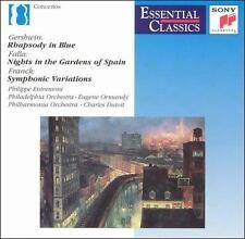 Gershwin: Rhapsody in Blue; Falla: Nights in the Gardens of Spain; Franck: Symph