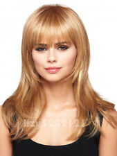 New Western Women's Long Wave Blond Hair Lace Wig Synthetic With Wig Cap SW0025