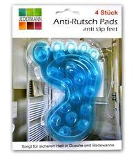 4x Antirutsch Einlag für Badewann / Dusche | Duschmatte | Wanneneinlage