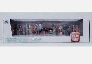disney store figures wreck it ralph comfy squad princess figurines