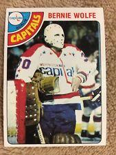 1978-79 Topps Hockey Bernie Wolf