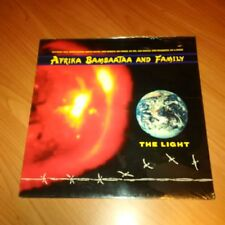 LP AFRIKA BAMBAATAA AND FAMILY THE LIGHT EMI 64 7901570 SIGILLATO ITALY 1988 MCZ
