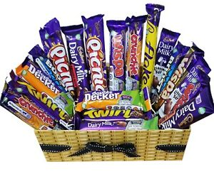 Cadbury Chocolate Selection Box - All Full Bar Chocolates - Personalized Message