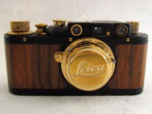 Leica II(D) Olympischen Spielen 1936 WWII Vintage Russian Black Camera EXCELLENT