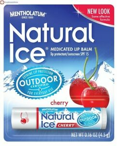 Natural Ice Lip Protect SPF-15 Cherry 24 Pieces/Pack