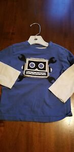 NWT Boy/'s Gymboree Star Brights blue outerspace shirt ~ 6 12 18 24 months 2T 3T