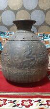 OTTOMAN Huge JAR RARE antique ISLAMIC ARABIC EMPIRE handmade of bronze