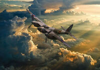 De-Havilland Mosquito EG-Y dramatic  canvas print various sizes free delivery