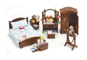 Sylvanian Families Calico Critters Master Bedroom Set