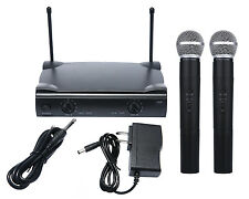 Pro Dual WIRELESS CORDLESS MICROPHONE SYSTEM & WIRELESS UT4 TYPE MIC for SHURE