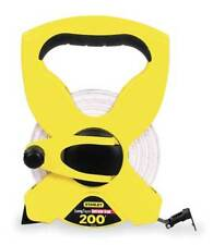 STANLEY 34-793 200 ft. Tape Measure, 1/2