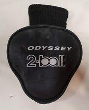 ODYSSEY 2-BALL MALLET PUTTER HEADCOVER