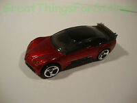HotWheels Hot Wheels Diecast Pontiac Rageous 1998 Mattel Toy Car 1:59 Scale Auto