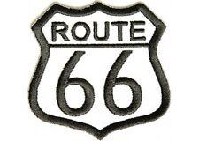 """(ZDO) ROUTE 66 - 2.5"""" iron on patch (2913D) Biker Vest Cap Hat Jacket"""