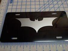 Batman Dark night car tag/ license plate (silver)