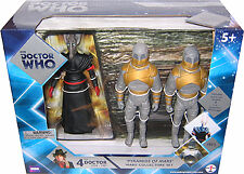 "5"" Doctor Who Pyramids of Mars (Sutekh, 2 Mummies) Action Figure Set"
