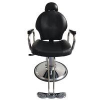 Hydraulic Reclining Barber Chair Salon Hair Styling Beauty Treatment SPA Tattoo