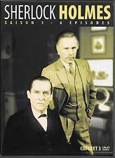 COFFRET 3 DVD ZONE 2--SHERLOCK HOLMES--INTEGRALE SAISON 3