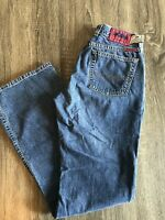 Lucky Brand Peanut Pant Jeans Size 4/27 Medium Wash Womens Low Rise Flare