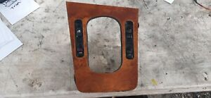 93-96 Infiniti Q45 Shifter Bezel Trim - Wood Grain Center Window Master Switch