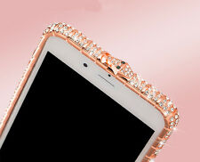 Bling Crystal Metal Bumper Case For iPhone 6 6s 7 7 Plus W/H Swarovski Elements