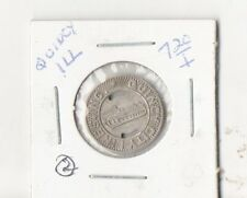 Quincy Il , City Lines, One Fare,Token Free Shipping