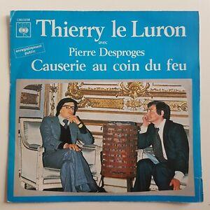 THIERRY LE LURON & PIERRE DESPROGES : CAUSERIE AU COIN DU FEU (9 MNS) ♦