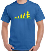 Lego Evolution T-Shirt Mens Funny UNISEX TEE TOP