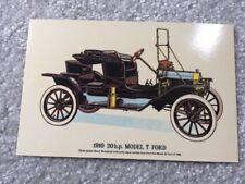 1910 Model T Ford Postcard -Prescott-Pickup & Co Ltd - Collectable