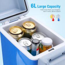 Mini Car Fridge Portable 12V 7.5L Mini Refrigerator Cooler & Warmer Camping Us