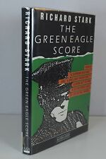 The Green Eagle Score by Richard Stark Donald Westlake, 1st Edition, Signed