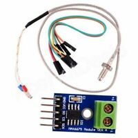 DC5V MAX6675+K Style Thermocouple Temperature Sensor+4P DuPont Lines for Arduino