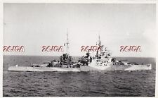 "Original Photograph Royal Navy. HMS ""Leviathan"" Aircraft Carrier Incomplete 1965"