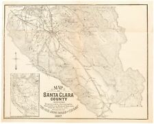 New ListingMap of Santa Clara County with Bay Area inset