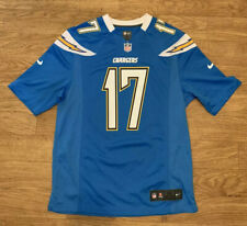 Philip Rivers #17 LA Chargers Nike On Field Powder Blue Alternate Jersey Men's M