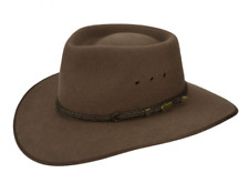 Akubra Cattleman Hat Australian Country Style Genuine - Fawn Color - Free Post