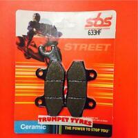 Voxan 1000 Scrambler 01 > 03 SBS Rear Ceramic Brake Pads OE QUALITY 633HF