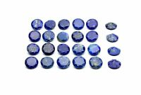 Round Lapis Lazuli Gemstone Semiprecious Natural Loose AA Wholesale DIY Jewelry