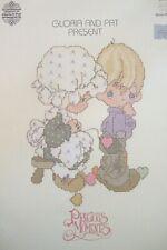 Gloria/Pat Precious Moments Cross Stitch Book PM 2 Sew in Love 1981