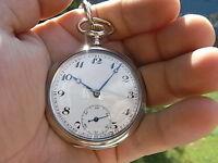 TASCHENUHR Relógio De Bolso orologio da TASCA POCKET WATCH SAAT 0,800 SILBER
