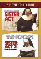 SISTER ACT/SISTER ACT 2 NEW DVD