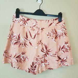 NWT Joie FARRON Linen Shorts 12