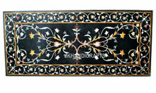 India Cottage Crafts Inlay Art Dining Table Top For Royal Home 24'' x 48''