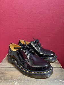 feine Dr. Martens Lack Leder Schuhe,1461 Black Patent,schwarz,Doc Martens,Gr.37