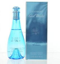 Cool Water By Davidoff For Women Deodorant Spray 3.4 Oz 100 Ml