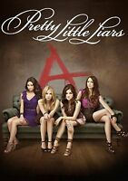 PRETTY LITTLE LIARS COLLAGE Poster Print A4 260GSM