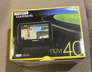 Garmin Nuvi40 4.3″ GPS Navigation w/ USA & Canadian Map # 010-00990-00 * NEW