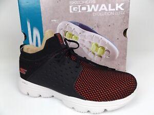 Skechers Go Walk Evolution Ultra-Turbo Comfort Sneaker Womens Size 8M, Black NEW